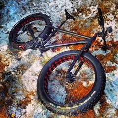 2012 Diamant F4 fat bike on snow