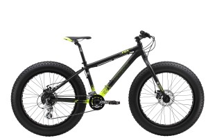 "The Diamant F24 Kids fatbike (side 90 degree photo) is a 24"" fat bike. It's a 24 inch wheel fatbike and is suited as a teenager fatbike, kids fat bike or child's fat bike or a very small adult fat bike."