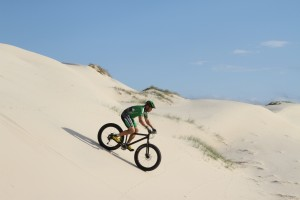 F4 fatbike dune descent