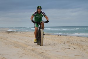 Fatbike beach fun