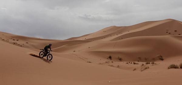Cross the Sahara with a mate on Fat bike