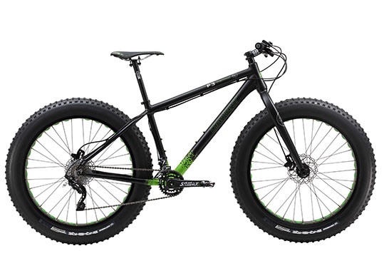 Diamant Mammut F3 fatbike Australia 2015  (R side 90 degree photo) shown with rigid fork.