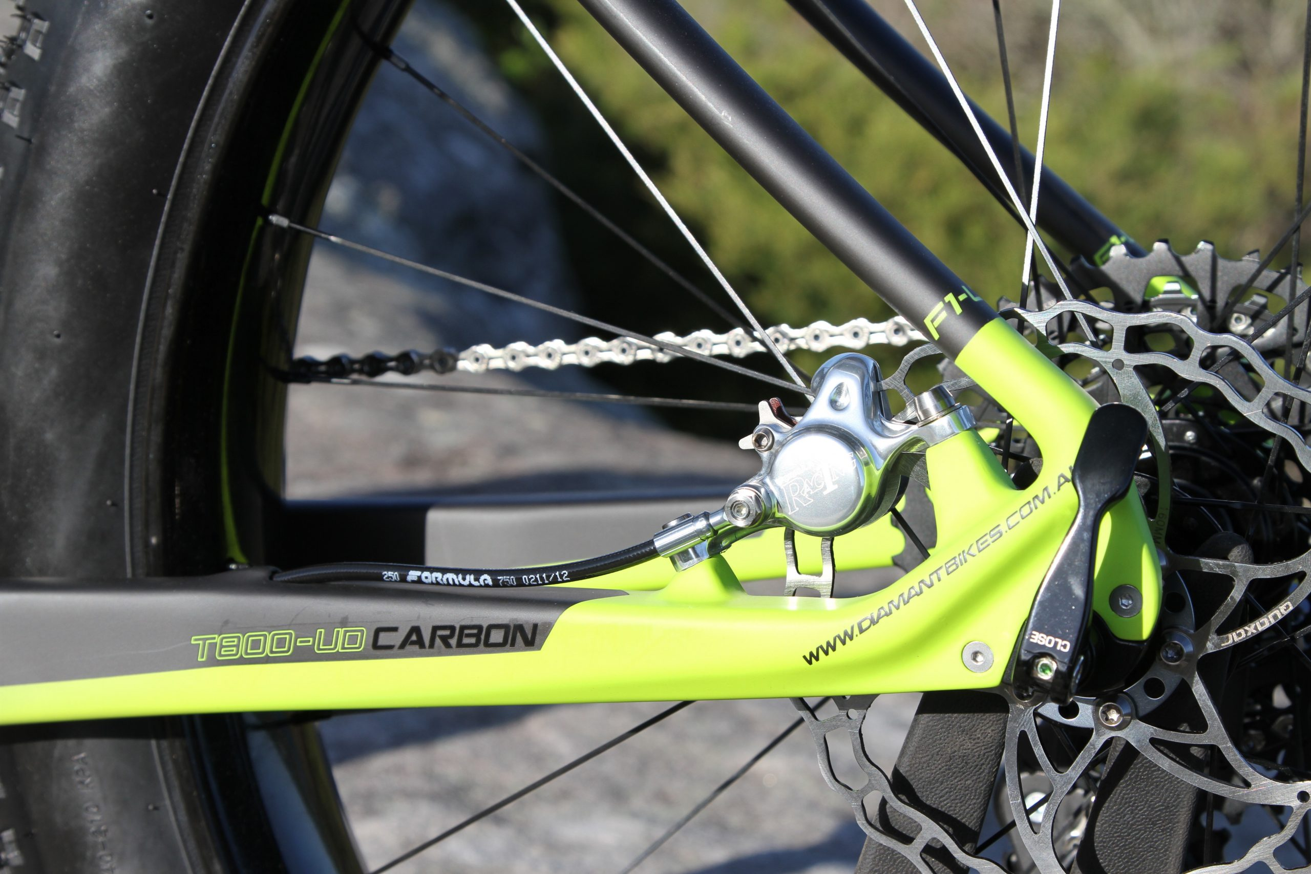 Diamant F1-LTD Fat bike
