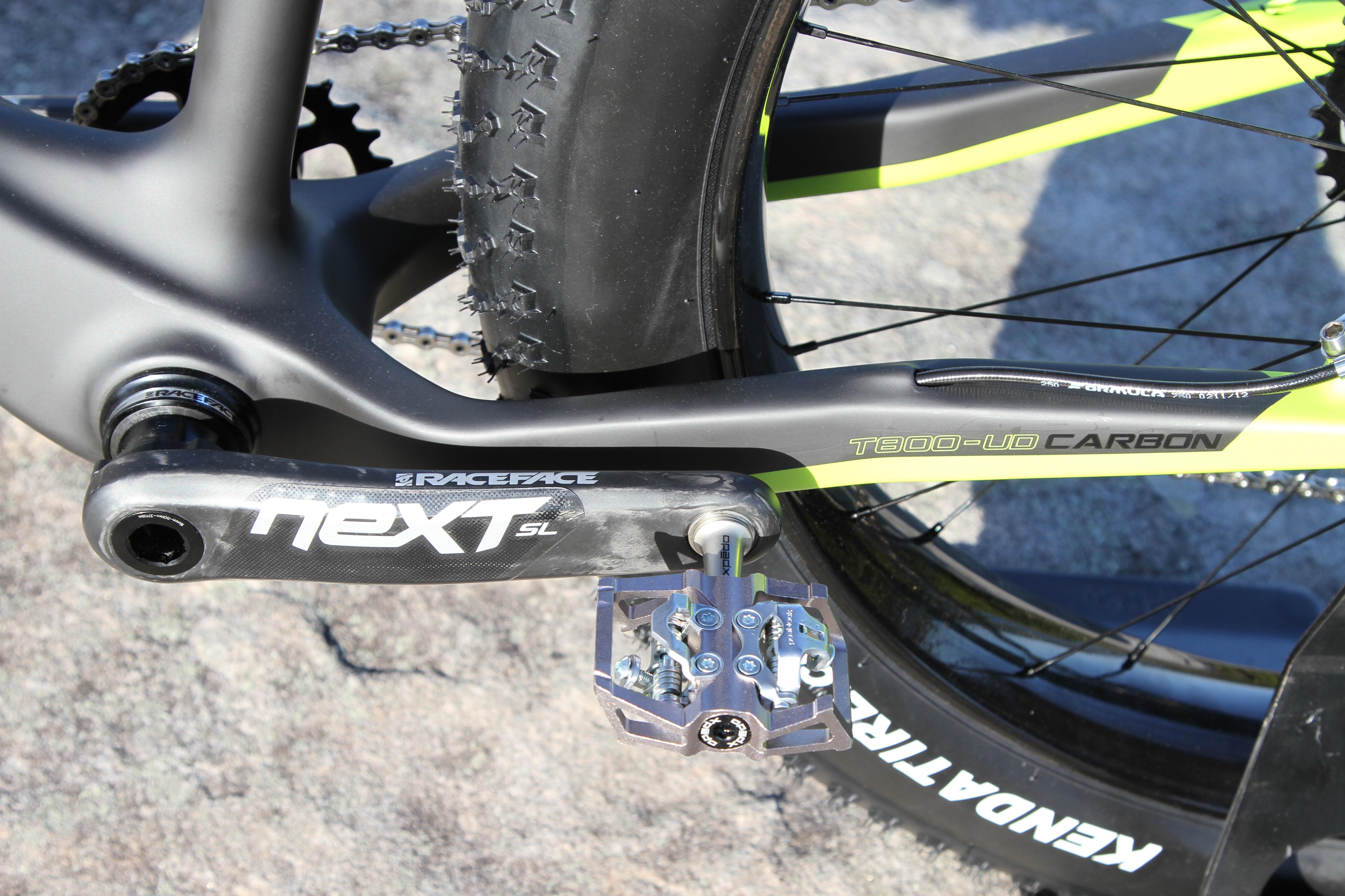 Diamant F1-LTD Fat bike -Raceface Next Carbon Cranks