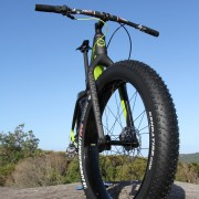 Diamant F1-LTD fat bike Kenda Tyre