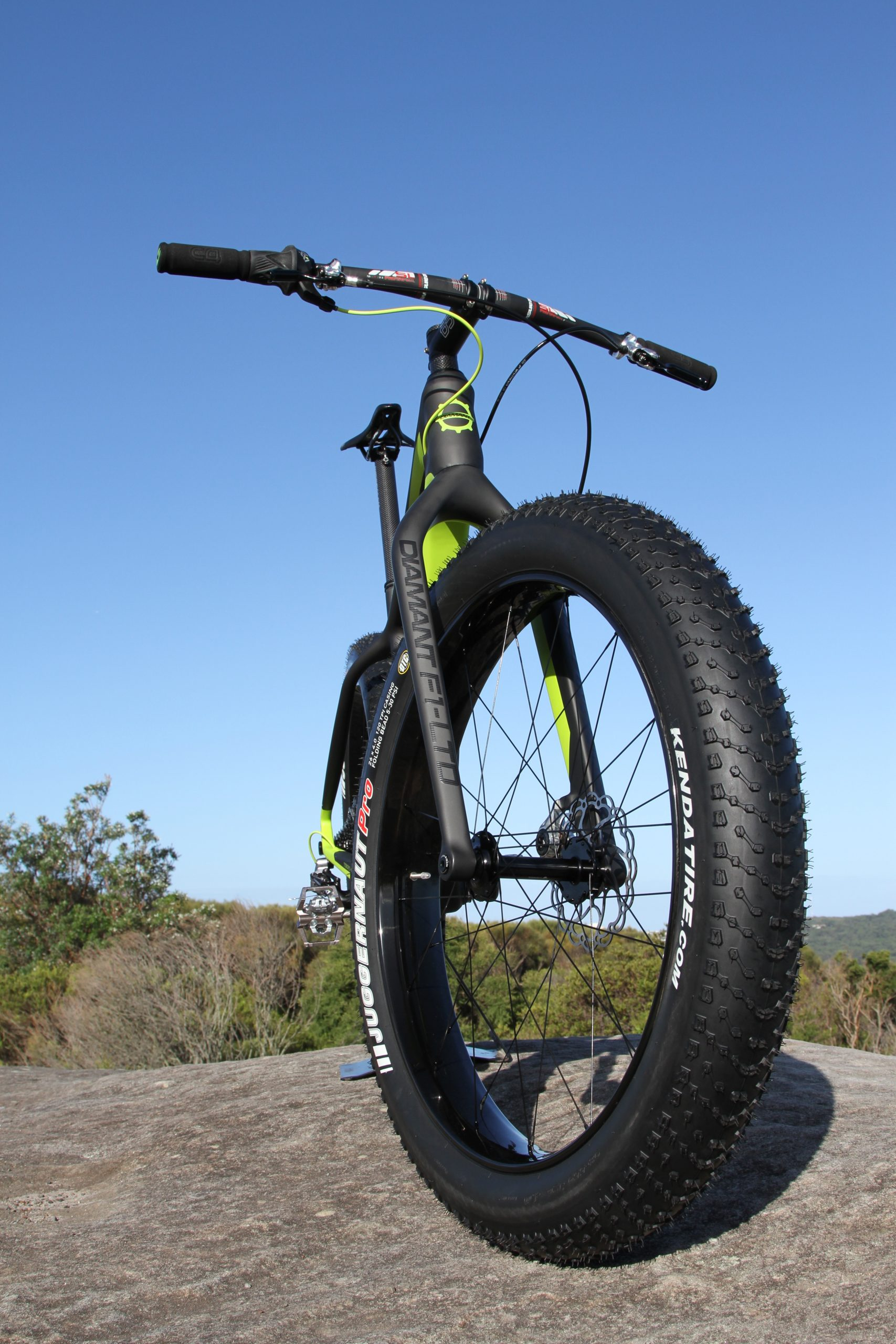 Diamant F1-LTD fat bike Kenda Tyre