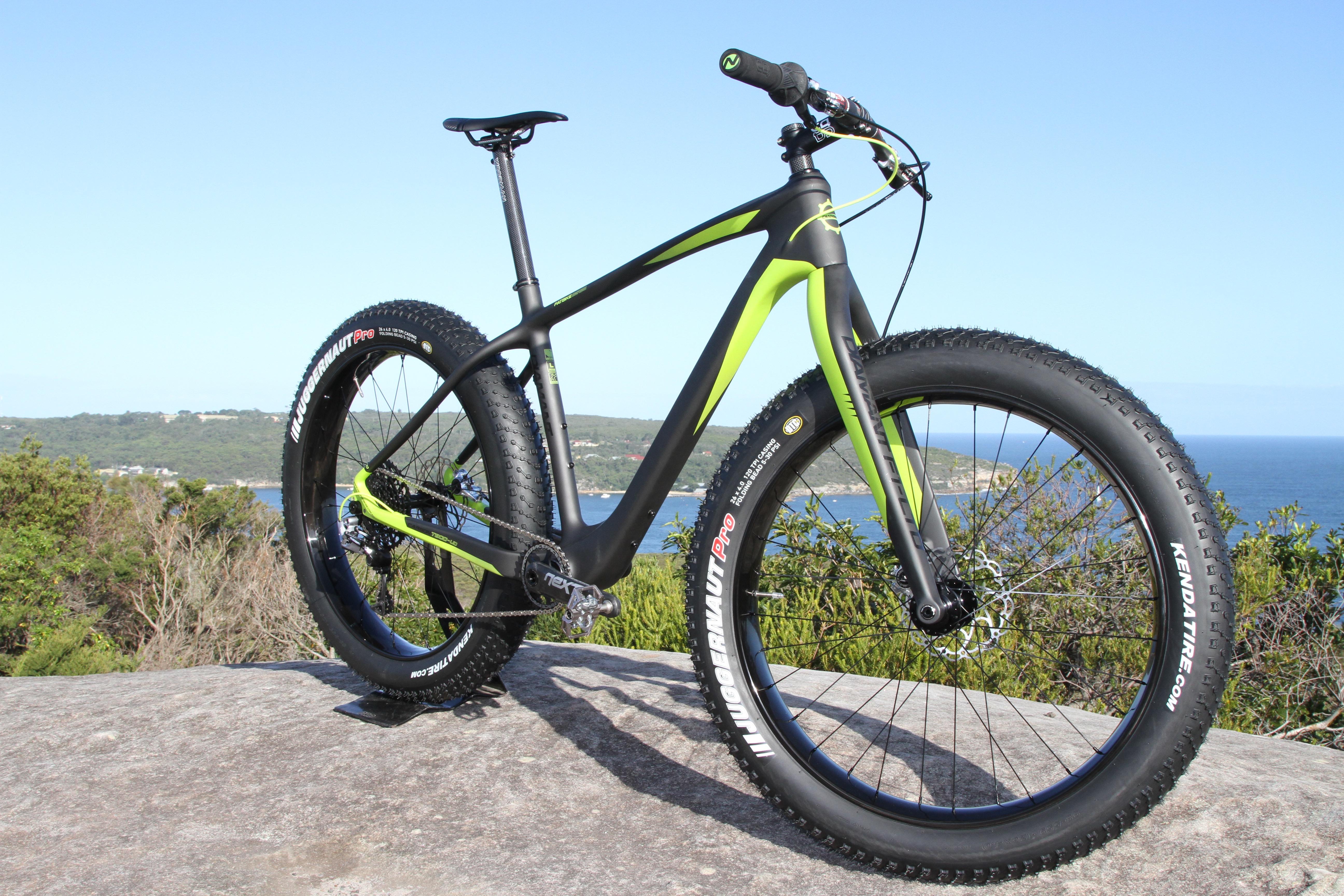 Diamant F1-LTD fat bike RHS 45