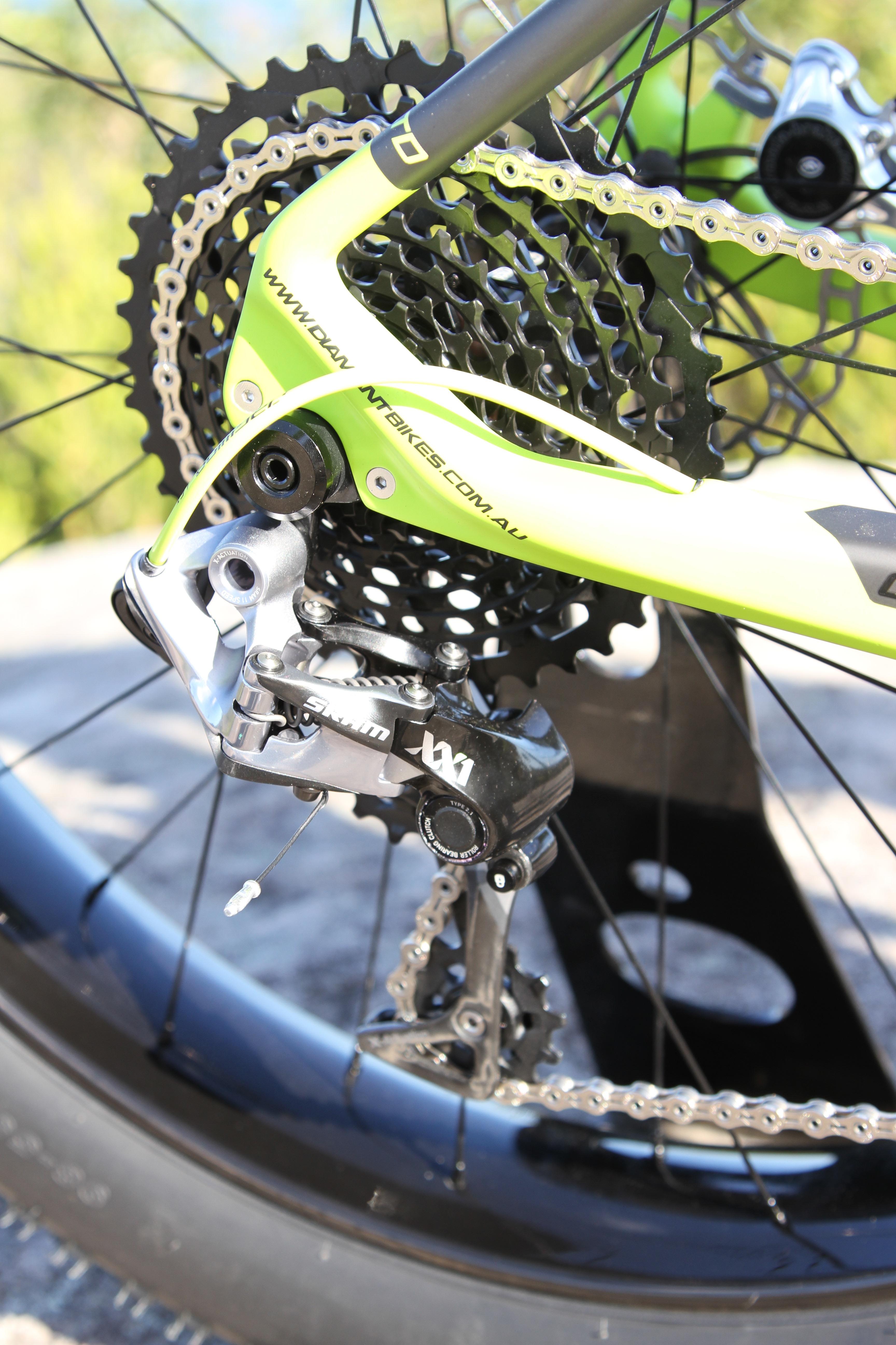 Diamant F1-LTD fat bike XX1 RD