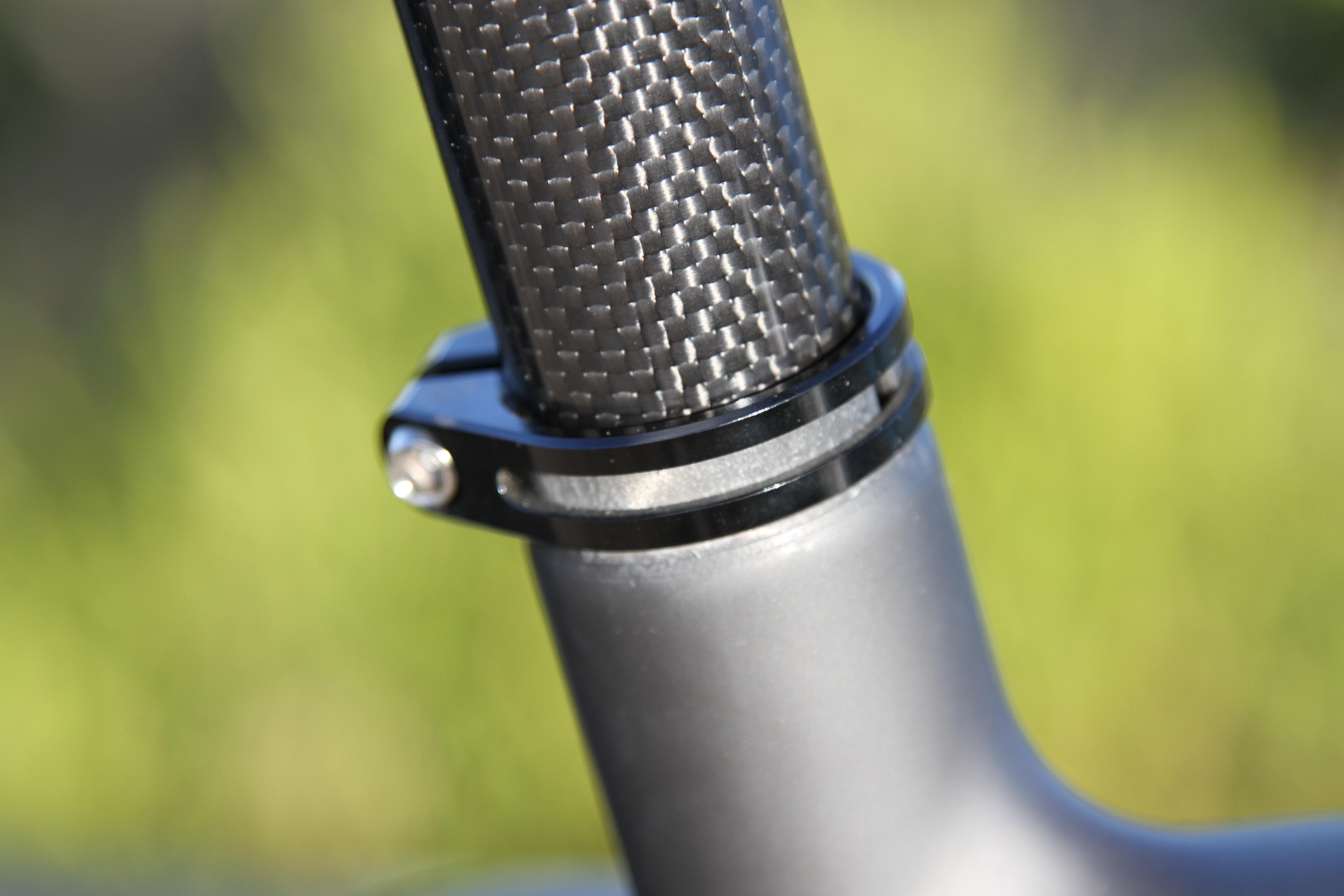 Diamant F1-LTD fat bike Seat Clamp